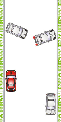 Learning to Drive: Three point Turn